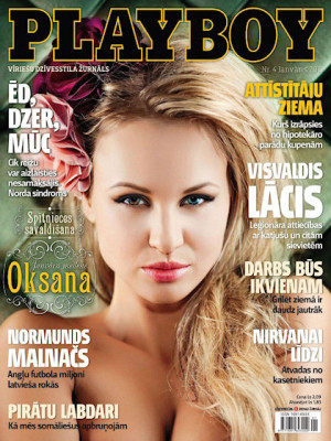 Playboy Latvia - Jan 2011