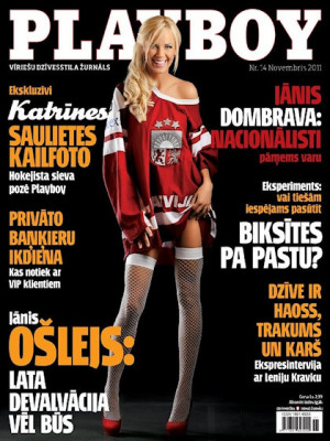 Playboy Latvia - Nov 2011