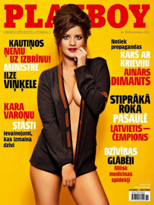 Playboy Latvia - Nov 2012
