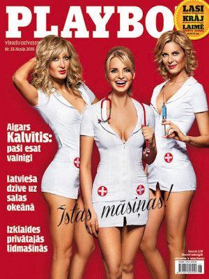 Playboy Latvia - June 2013