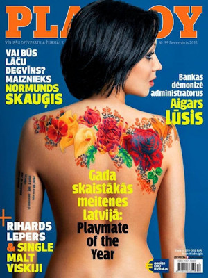 Playboy Latvia - Dec 2013
