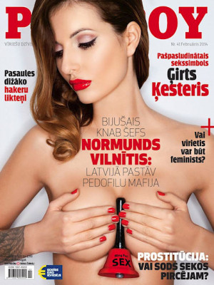 Playboy Latvia - Feb 2014