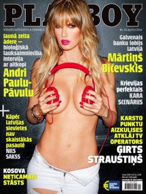 Playboy Latvia - April 2014
