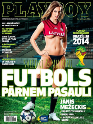 Playboy Latvia - June 2014