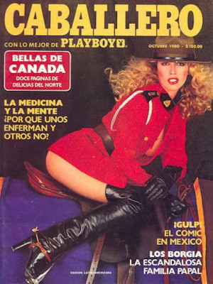 Playboy Mexico - Oct 1980