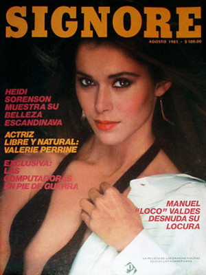 Playboy Mexico - August 1981