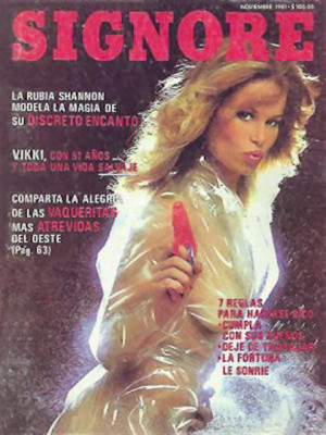 Playboy Mexico - Nov 1981