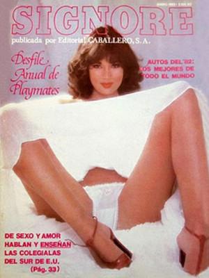 Playboy Mexico - Jan 1982