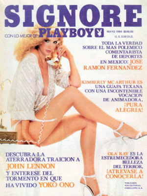 Playboy Mexico - May 1984