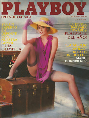 Playboy Mexico - July 1984