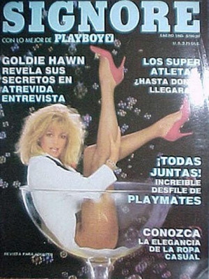 Playboy Mexico - Jan 1985