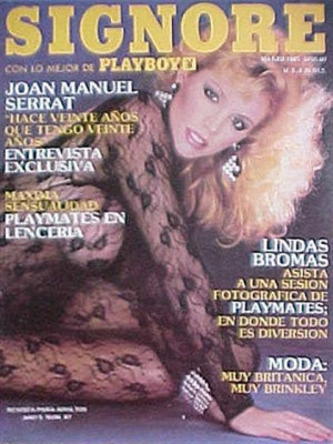 Playboy Mexico - March 1985