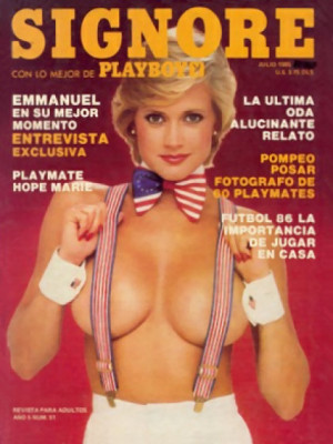 Playboy Mexico - July 1985