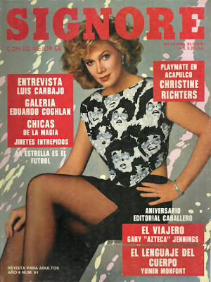 Playboy Mexico - May 1986