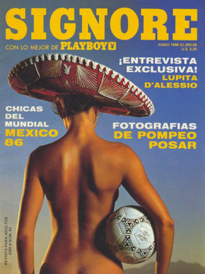 Playboy Mexico - June 1986