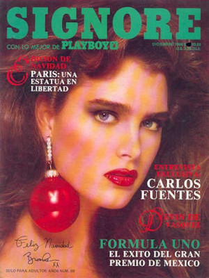 Playboy Mexico - Dec 1986