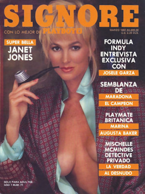 Playboy Mexico - March 1987