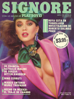 Playboy Mexico - April 1987