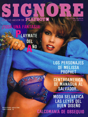 Playboy Mexico - July 1987