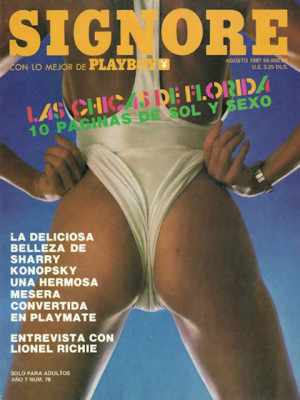 Playboy Mexico - August 1987