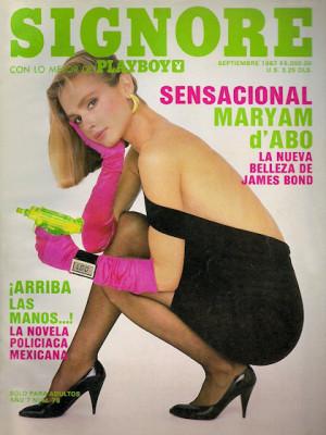 Playboy Mexico - Sep 1987