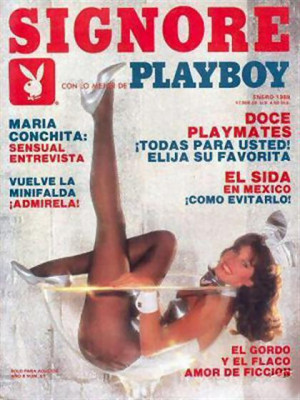 Playboy Mexico - Jan 1988
