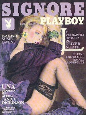 Playboy Mexico - March 1988