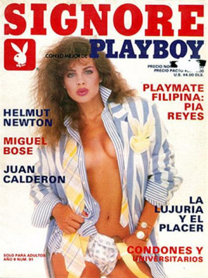 Playboy Mexico - Nov 1988