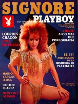 Playboy Mexico - Jan 1989