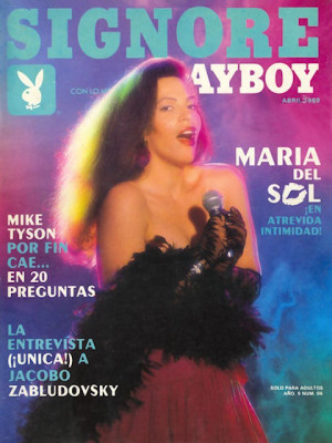 Playboy Mexico - April 1989