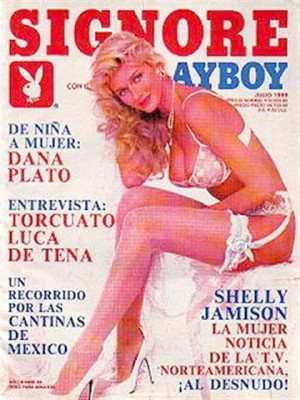 Playboy Mexico - July 1989