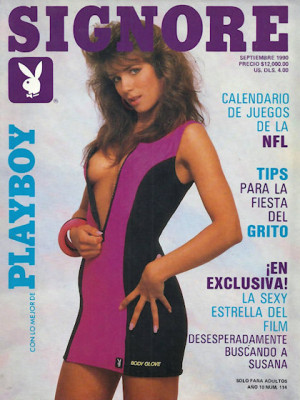 Playboy Mexico - Sep 1990