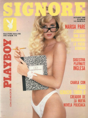Playboy Mexico - Oct 1990