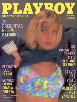 Playboy Mexico - March 1991