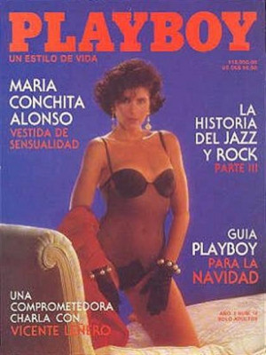 Playboy Mexico - Dec 1991