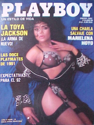 Playboy Mexico - Jan 1992