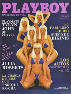 Playboy Mexico - March 1992