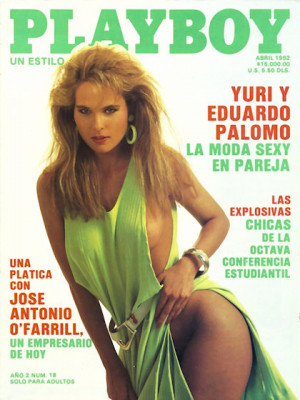 Playboy Mexico - April 1992