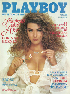 Playboy Mexico - June 1992