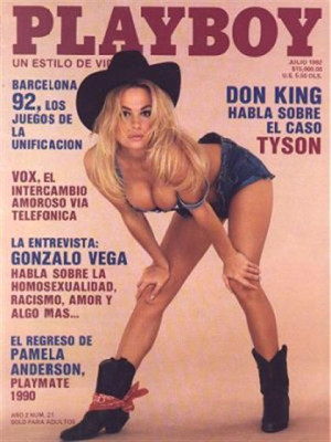 Playboy Mexico - July 1992