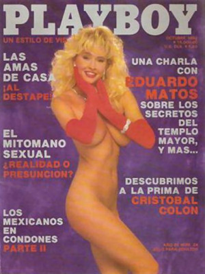 Playboy Mexico - Oct 1992