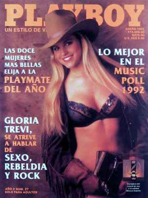 Playboy Mexico - Jan 1993