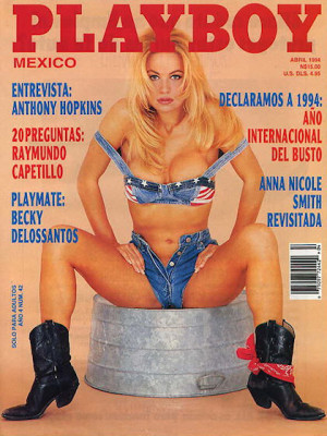 Playboy Mexico - April 1994