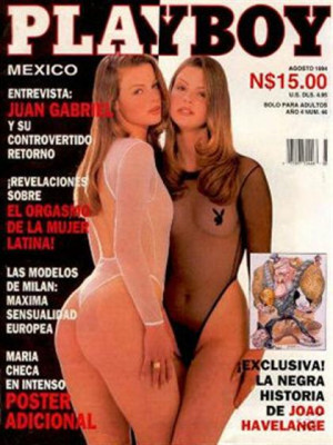 Playboy Mexico - August 1994
