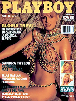 Playboy Mexico - Jan 1996