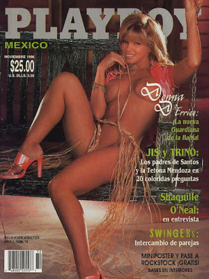 Playboy Mexico - Nov 1996