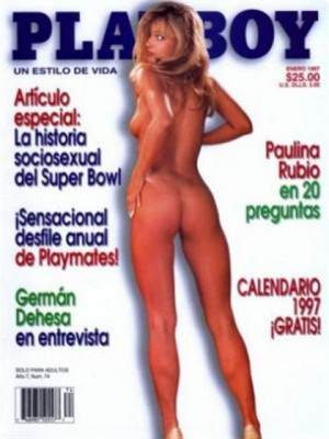Playboy Mexico - Jan 1997