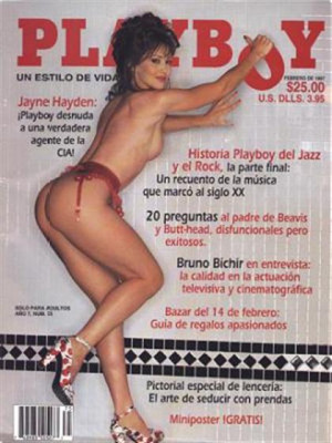 Playboy Mexico - Feb 1997