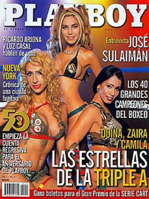 Playboy Mexico - Sep 2003