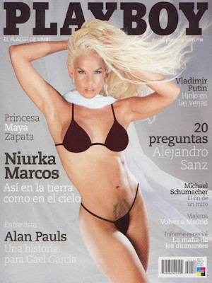 Playboy Mexico - Feb 2007
